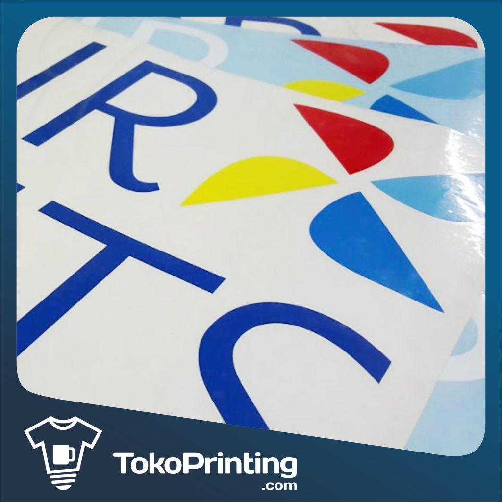 Sticker Kaca di Makassar