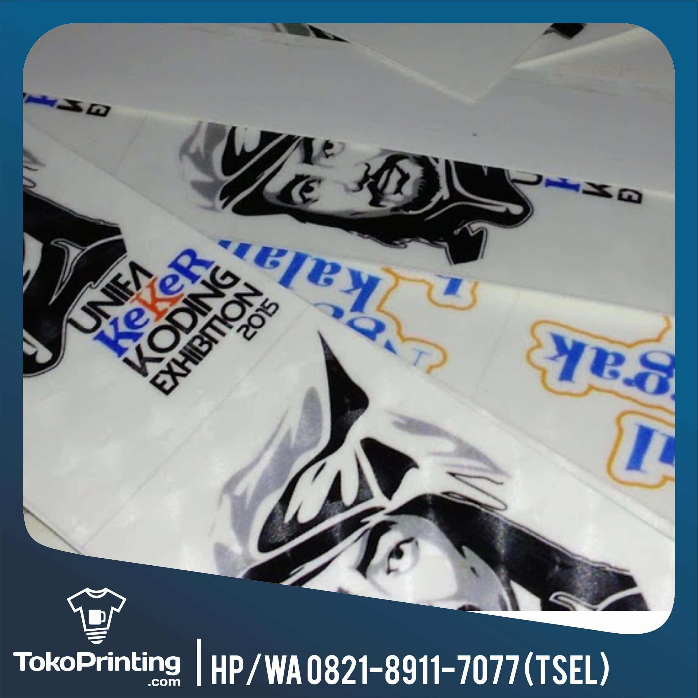 Tempat print stiker makassar