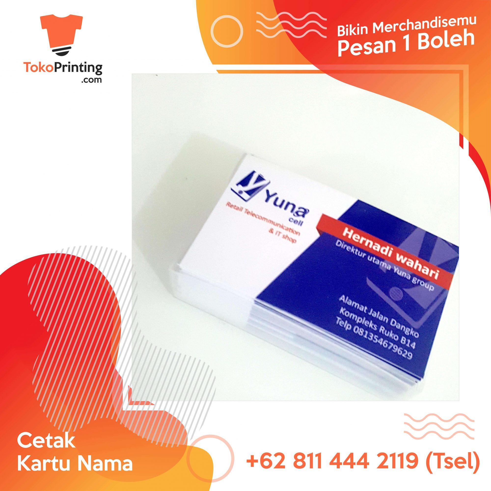 Kartu Nama Makassar