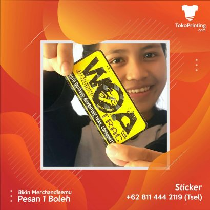 Stiker Makassar