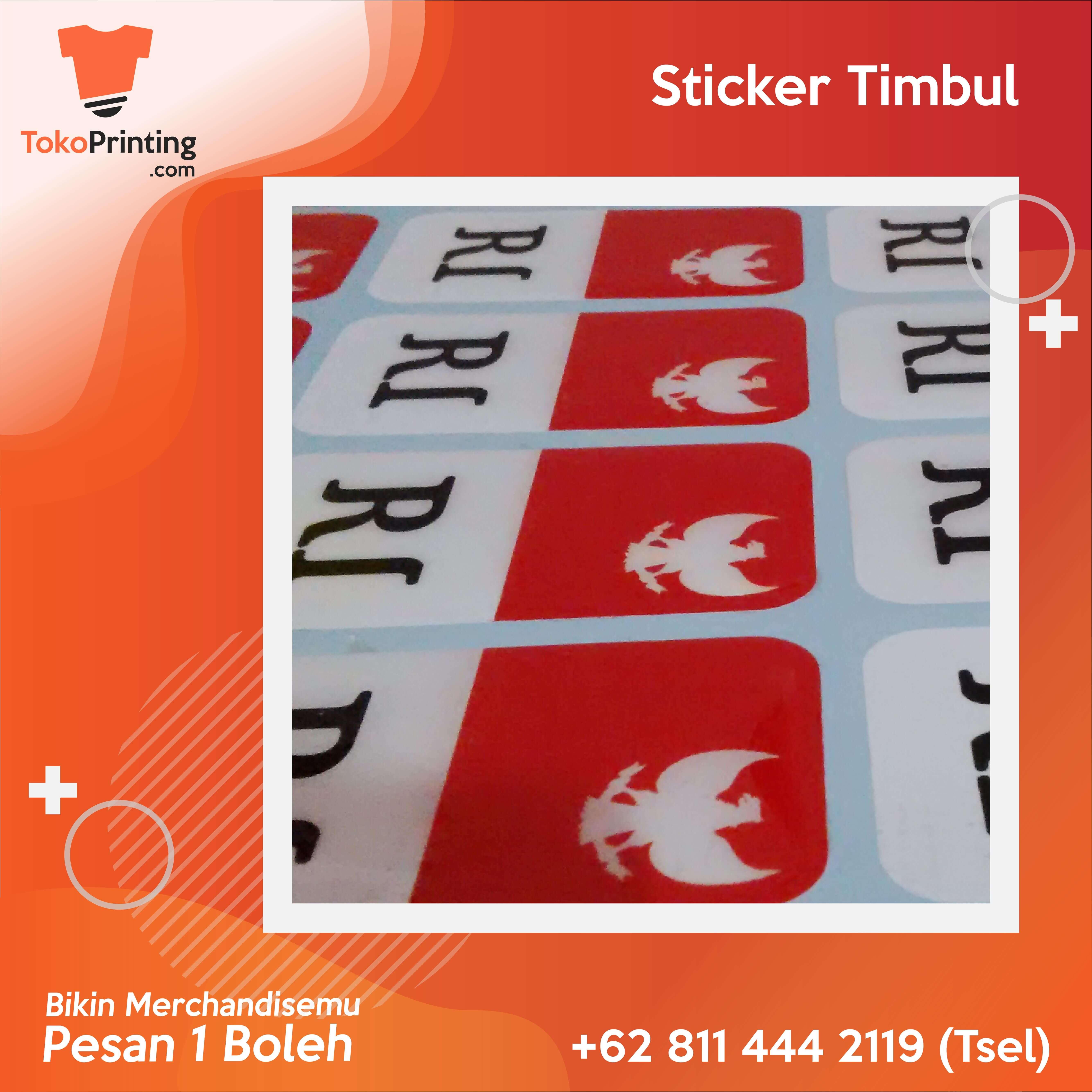 Sticker Timbul Makassar