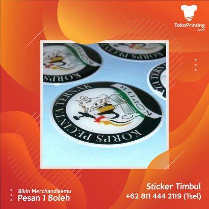 Stiker Timbul Makassar
