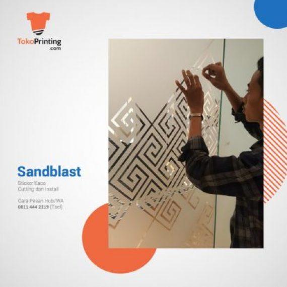 Stiker Kaca Makassar