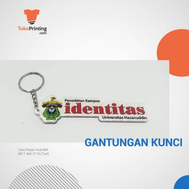 Gantungan Kunci Akrilik Makassar