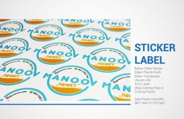 Stiker Label Makassar