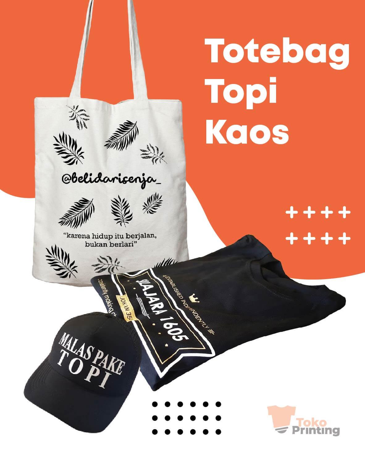 Cetak Topi Makassar