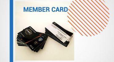 Cetak Kartu Anggota, Member Card